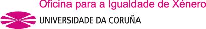 Logotipo da Oficina de Igualdade de Xénero da Universidade de Santiago de Compostela
